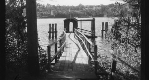 Mornington Wharf, Lane Cover River (demolished)