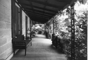 Warrawella verandah, image by Douglass Baglin