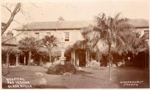 Bld38 Gladesville asylum Source: State Library early 1900s