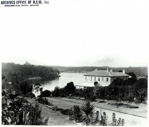 Medical Superintendent's House Parramatta River Source: State Archives
