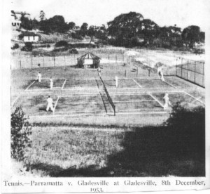 Patients' tennis match