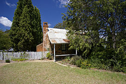 Blundell's Cottage, 1820:  Image Wikimedia commons