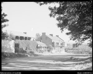 Houses of Thompson square, National Library, ca 1935