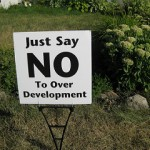 no to over development